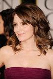 Tina Fey at the Golden Globes.