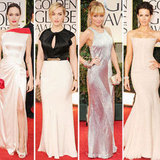 Golden Globes 2012 Red Carpet Dress Pictures