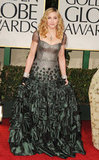 Madonna wore a Reem Acra gown.