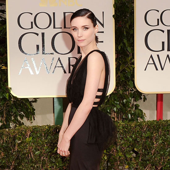 Rooney Mara showed off details on her Nina Ricci dress.