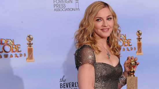 "Video: Madonna Talks Fitness and the ""Best Thing For Your Bum"" at the Golden Globes"