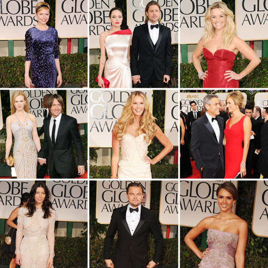 See All the Stars on the Golden Globes Red Carpet