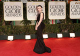 Rooney Mara wore Nina Ricci on the red carpet at the 2012 Golden Globe Awards.