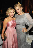 Rachel Harris and Busy Philipps