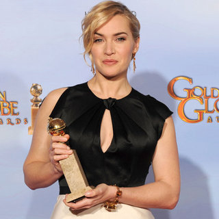 Kate Winslet Golden Globes Press Room (Video)