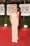 Heidi Klum at the Golden Globes.