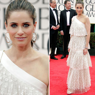 Amanda Peet at Golden Globes 2012