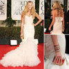 Aussie Elle Macpherson Wows in Zac Posen at the Golden Globes!