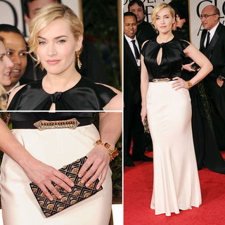 Kate Winslet at Golden Globes 2012
