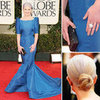 Kelly Osbourne at Golden Globes 2012