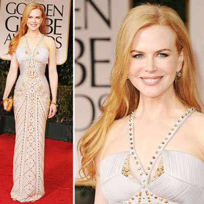Nicole Kidman at Golden Globes 2012