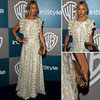Rachel Zoe Sports Her Own Design For The InStyle Golden Globes After Party