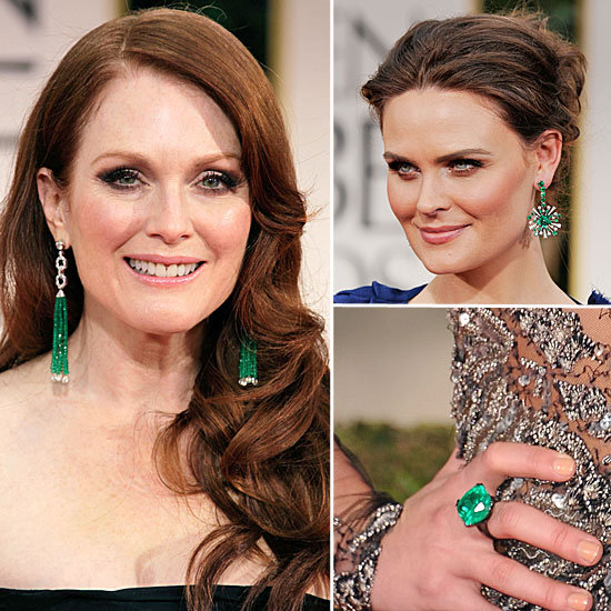 Golden Globes Jewelry 2012