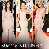 Golden Globes Trendspotting: Celebs Channel Subtle Glam With Nude Hues