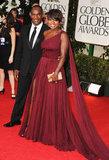 Viola Davis and husband Julius Tennon walk the red carpet.
