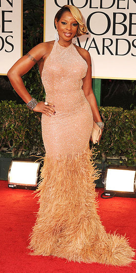 Mary J. Blige(2012 Golden Globes)