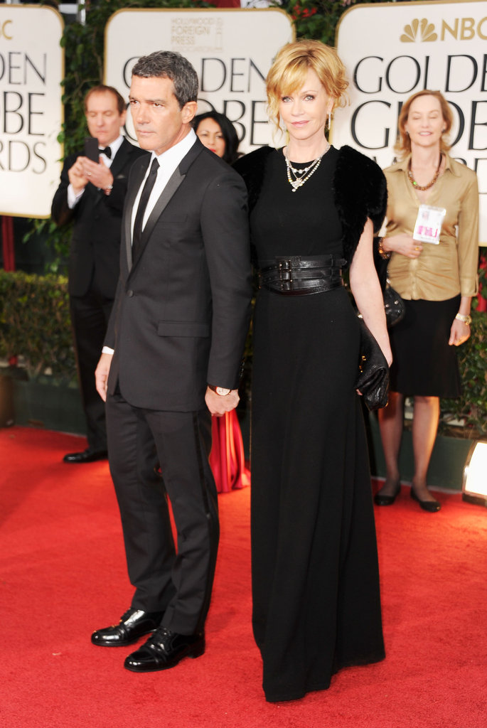 Antonio Banderas and Melanie Griffiths
