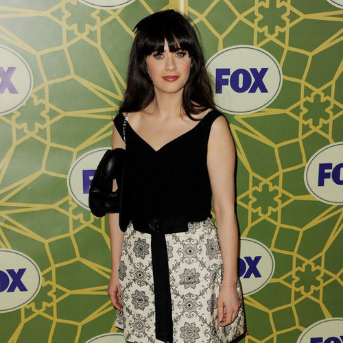 Zooey Deschanel Pictures at 2012 Winter TCA