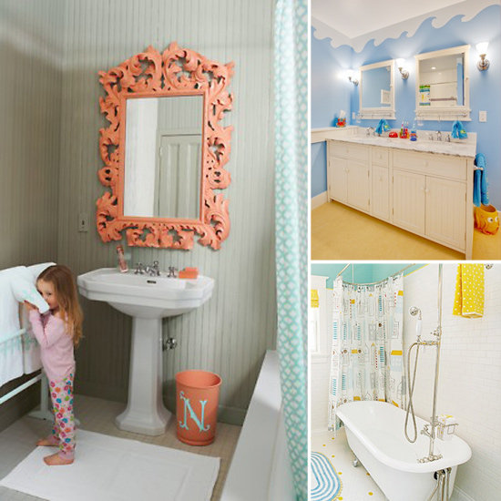 Bathroom decor on pinterest girl bathrooms bathroom and for Kids bathroom accessories