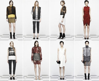 See Aleander Wang's Entire Pre-Fall 2012 Collection: Heavy on Sheer, Sexy Tailoring, Sporty Silhouettes & Killer Shoes and Bags