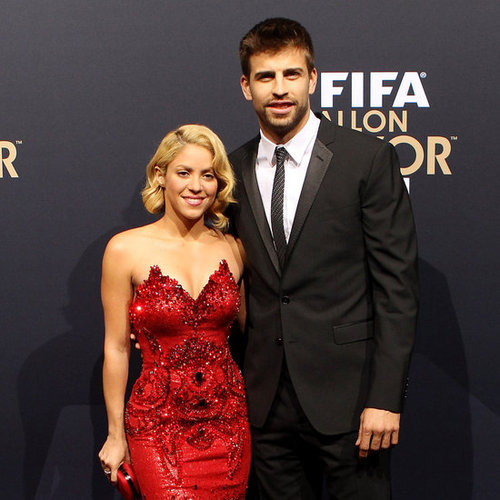 Shakira and Gerard Pique at FIFA Ballon d'Or Ceremony