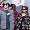 Zoe Kravitz and Penn Badgley Kissing Pictures in NYC