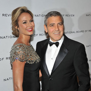 George Clooney und Stacy Keibler bei den NBR-Awards