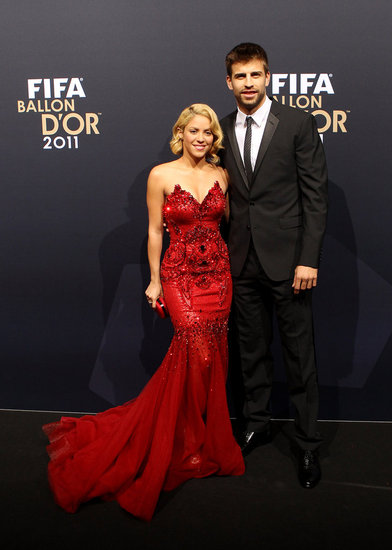 Hot Couple Shakira and Gerard Sparkle on the Red Carpet