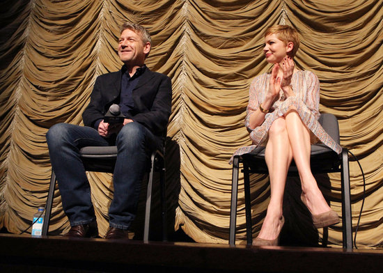Michelle Williams applauded her costars.