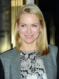 Naomi Watts smiled on a night out in NYC.