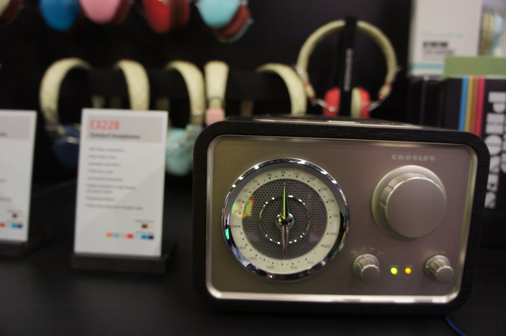 Crosley Brings Retro Flare to CES