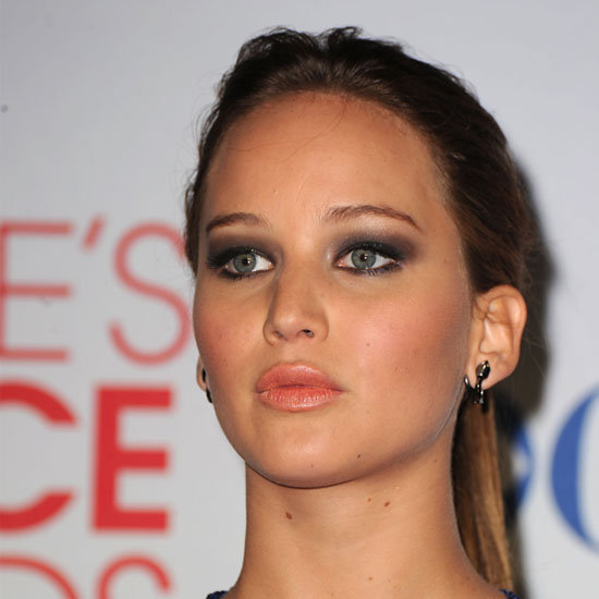 Jennifer Lawrence&#039;s Sexy, Smoky Eyes