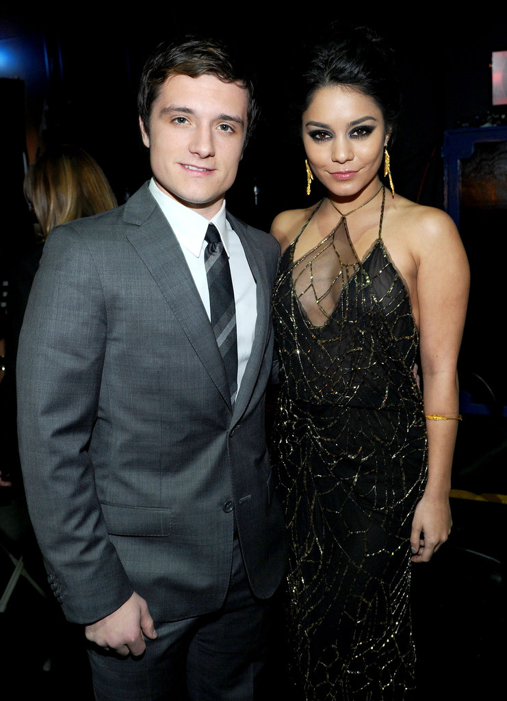 Josh Hutcherson and Vanessa Hudgens