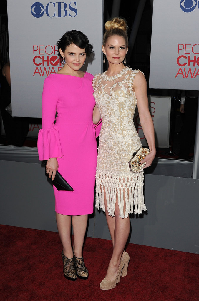 Costars Ginnifer Goodwin and Jennifer Morrison at the People's Choice Awards.
