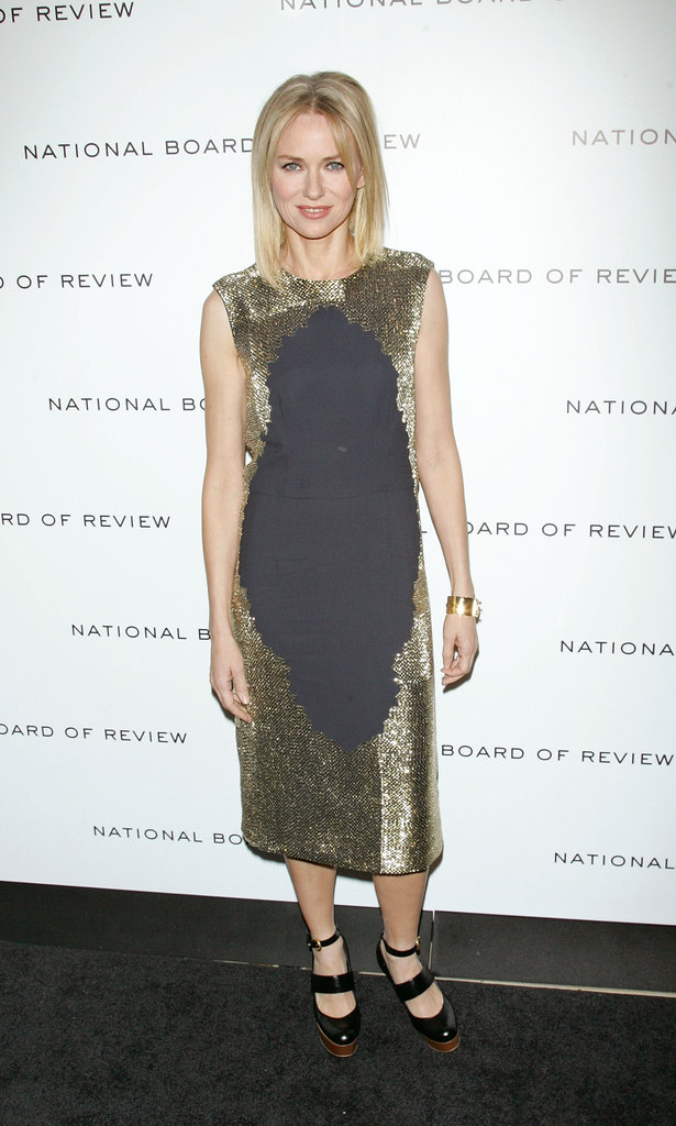 Naomi Watts spent her evening at NYC's Cipriani.