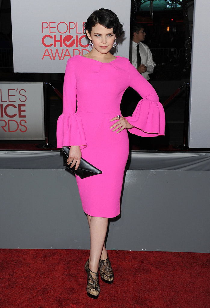 Ginnifer Goodwin at the 2012 People's Choice Awards.