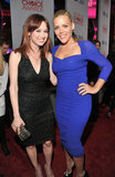 Busy Philipps and Ellie Kemper at the People's Choice Awards.