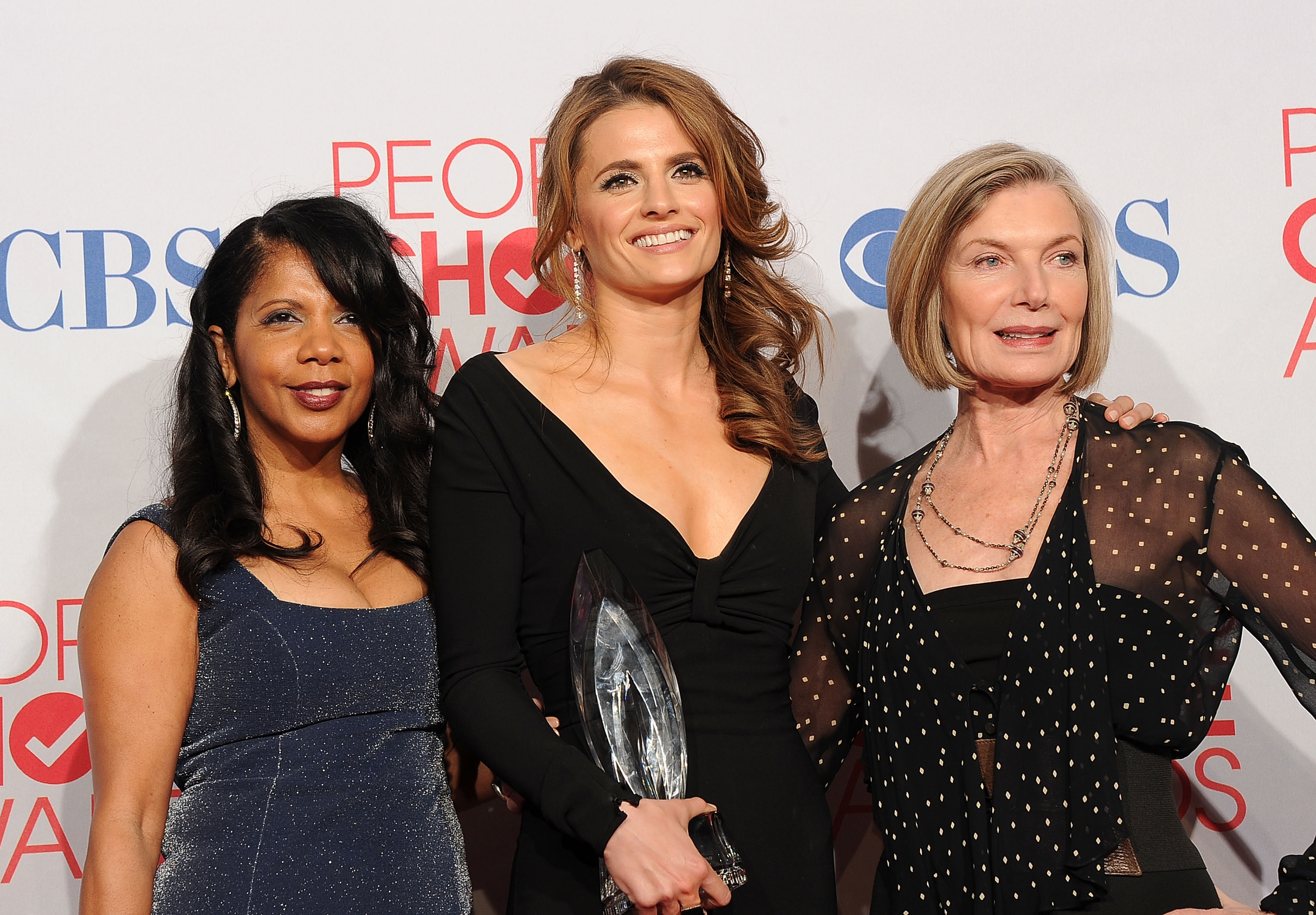 Penny, Stana, and Susan
