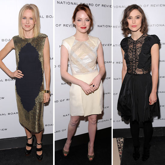 Emma Stone, Keira Knightley, and More Make a Chic Appearance at the NBR Awards Gala