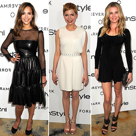 Best Dressed InStyle Forevermark Party January 2012