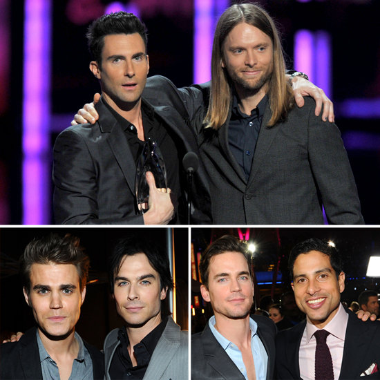 Bromantic Moments at the PCAs