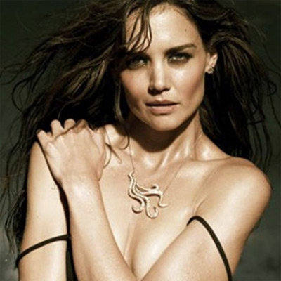 Katie Holmes Almost Topless Pictures in H. Stern Jewellery Campaign