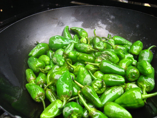 Padrón peppers