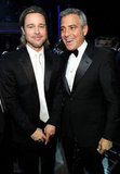 Brad Pitt and George Clooney
