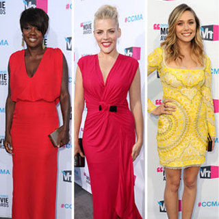 Pictures of All the Celebrities and Dresses on the 2012 Critics' Choice Awards Red Carpet