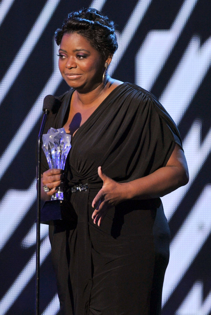 Octavia Spencer took home the Critics' Choice Movie Award for best supporting actress.