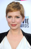 Michelle Williams said her hair has naturally turned red over time.