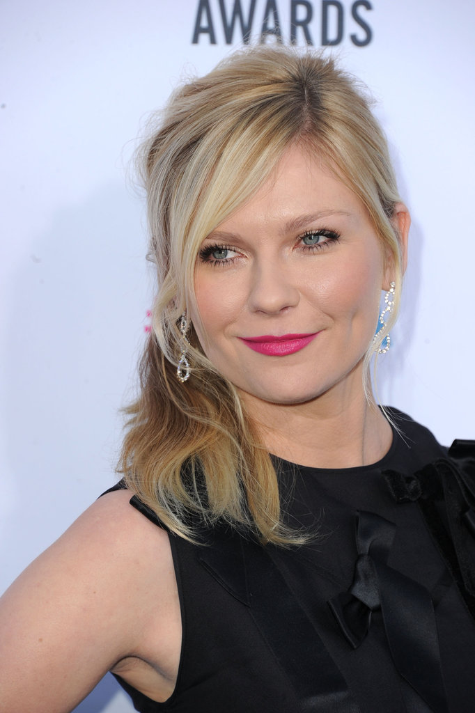 Kirsten Dunst made her way into the Critics' Choice Movie Awards.