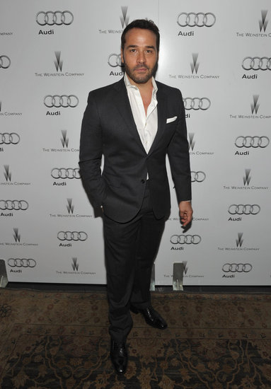 Jeremy Piven arrived at the Weinstein Company's award show party.
