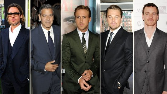 Brad, George, and Ryan — Why 2012 Is the Sexiest Best Actor Race Ever!